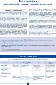 mutuelle de poitiers assurances si e social les assurances alliatys conditions générales valant notice d