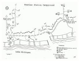 Michigan Campgrounds Map by Sleeping Bear Dunes Maps Npmaps Com Just Free Maps Period