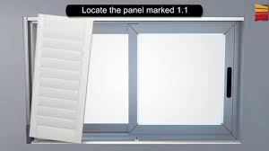 how to install indoor pvc wood look shutters blindsdirect co za