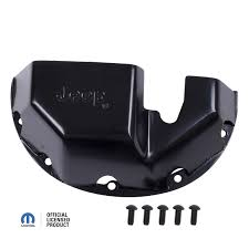 jeep wrangler logo rugged ridge dmc 16597 35 differential skid plate jeep logo for