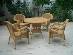 hw892 5 pieces outdoor leisure rattan wicker furniture honor