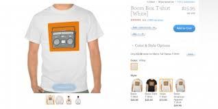 uberprints vs zazzle vs customink custom t shirt shops compared