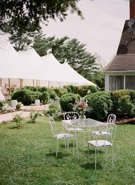 a backyard wedding at an historic maryland farm brides