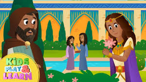 queen esther bible story for kids u0026 children youtube
