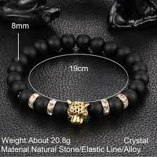 antique beaded bracelet images Wholesale antique silver plated buddha leopard head bracelet lava jpeg