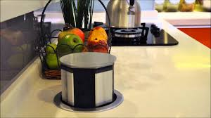 Kitchen Island Worktop by Pop Up Electrical Outlet For Kitchen Island Inspirations Including