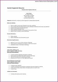 Orthodontic Resume Dentist Resume Format Dental Assistant Resume Dentist Resume