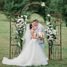 wedding arch nashville this nashville farm wedding was made complete with a southern