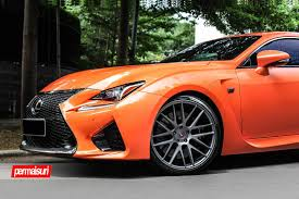rcf lexus orange vossen wheels lexus rcf vossen forgedprecision series vps 308