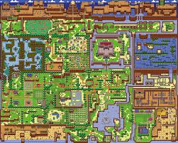 link u0027s awakening map hylians u0027 corner pinterest videogames