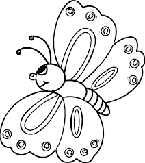 good butterfly coloring page wecoloringpage