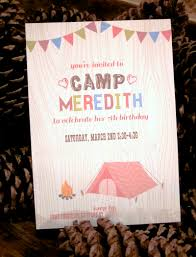 camping themed birthday party redeem your ground