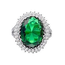 emerald rings uk suplight emerald ring green cubic zirconia jewellry gold