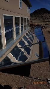 a passive solar basement design