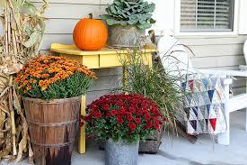 Fall Porch Decorating Ideas Fall Porch Decor Farmhouse Style House Of Hawthornes