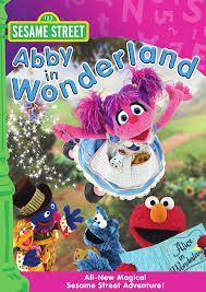 amazon com sesame street abby in wonderland leslie carrara