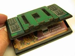 Circuit Board Business Card Green And Geeky Card Holder U2013 Livbit