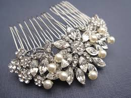 hair comb accessories vintage inspired pearls bridal hair comb wedding hair comb wedding