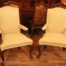 upholstered dining chairs with arms considerations