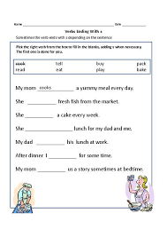 action verb worksheets 2nd grade free worksheets library