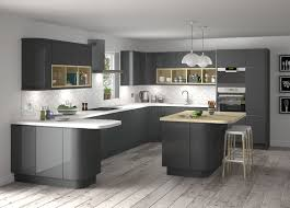 gray gloss kitchen cabinets rustic high gloss kitchen ideas with hanging ls 7722