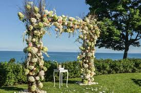 wedding arches branches wedding ceremony ideas flower covered wedding arch inside weddings