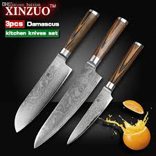 kitchen knives set wholesale xinzuo kitchen knives set damascus kitchen knife sharp