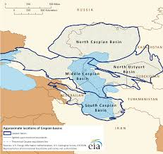 Caspian Sea World Map by E U0026p Rwe Socar Team On Caspian Sea Exploration Study
