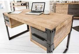 grand bureau en bois bureau bois naturel finest mini organiseur de bureau en bois