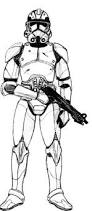 clone coloring pages star wars super battle droid coloring pages