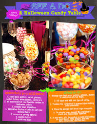 ideas for halloween candy bags easiest halloween candy table setup ever