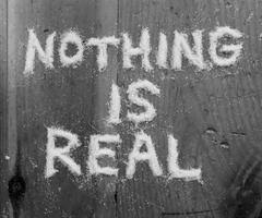 nothing is what is real theo sophical ruminations