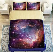 amazing galaxy starry sky bedding sets universe meditation nature