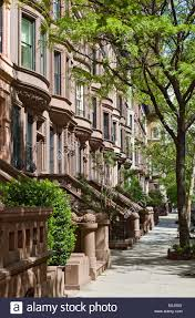 new york house brownstone apartment houses buildings residences on the upper