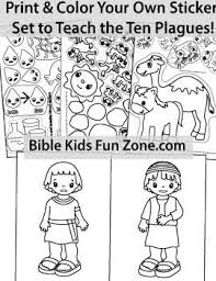 moses bible lessons crafts activities printables