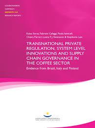 coffee sector supply chain governance coffee sustainability