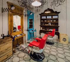 interior barber shop design ideas hair salon color schemes ladies