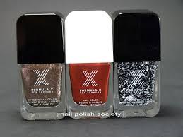 nail polish society birthday haul and formula x for sephora swatches