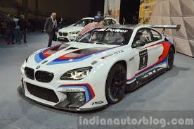 bmw m6 modified bmw m6 gt3 unveiled 2015 frankfurt motor show live
