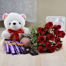 teddy delivery send gifts to mohali gift delivery in mohali midnight flower gifts