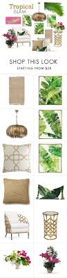 home interior ls tropical glam by angela l s liked on polyvore featuring