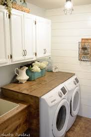 how to install a laundry sink laundry room reveal 100 room challenge timeless creations llc