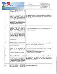 formato hoja de vida 2016 colombia informes supervisión vigencia 2016 ideam