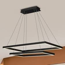 Extend A Finish Chandelier Cleaner Vonn Lighting Black Finish Acrylic And Aluminum 29 Inch Led