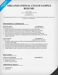 Soccer Coach Resume Template Here Are Free Sample Coach Resumes From Sites Around The Web