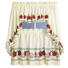 Kitchen Window Curtains by Country Kitchen Curtains Link Kitchen With Each Other Perfectly