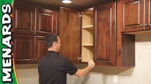 How To Fit Kitchen Cabinets Kitchen Cabinet Installation How To Menards Youtube
