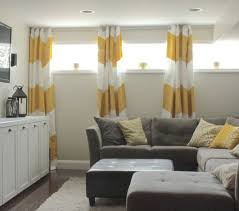 short curtains for basement windows bedroom curtains