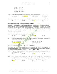 resume number of pages gate computer science solved paper 2007