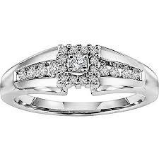 White Gold Wedding Rings by Keepsake Promise 1 5 Carat T W Certified Diamond 14kt White Gold